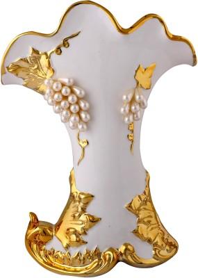 Giftadia Flower Vase-FF2516 Porcelain Vase(12 inch, Multicolor) at flipkart
