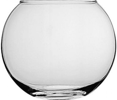 Pasabahce Glass Vase(4 inch, Clear)