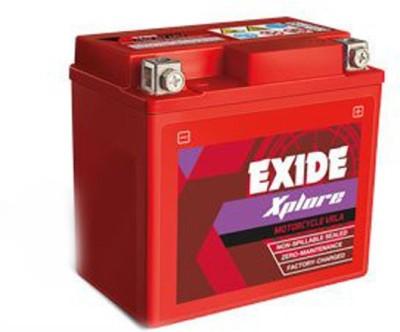 EXIDE Xltz7 6 Ah Battery for Bike EXIDE Vehicle Batteries