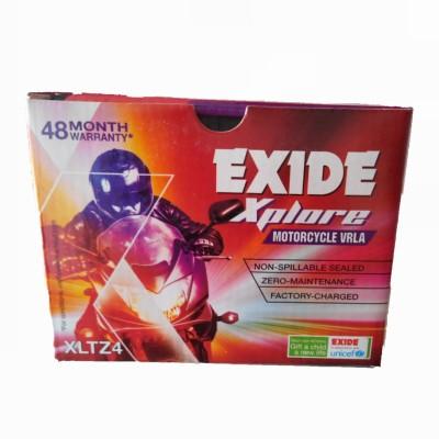 EXIDE Xplore FXLO XLTZ4  3 Ah Battery for Bike EXIDE Vehicle Batteries
