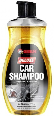 GETSUN Auto Deluxe Shampoo   Super Cleaner   Power Foam Car Washing Liquid   With Lemon Fragrance   G 9051 Liquid Vehicle Glass Cleaner 500 ml GETSUN