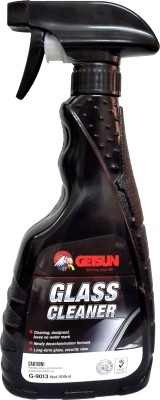 GETSUN   No Water Mark   Suitable for Car, Bike, Home   Office   500ml   G 9013 Liquid Vehicle Glass Cleaner 500 ml