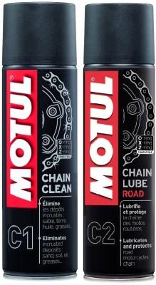 MOTUL C1 C2 Combo Chain Clean   Chain Lube Road Chain Oil Chain Oil 0.3 L MOTUL Bike Lubricants