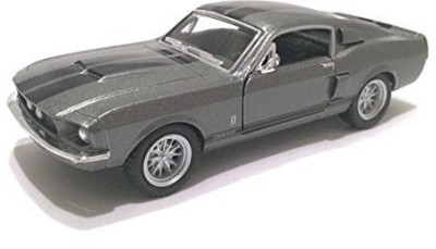 Kinsmart Scale 1/38 1967 Ford Shelby Mustang Gt-500 Diecast Car(Grey)  available at flipkart for Rs.1650