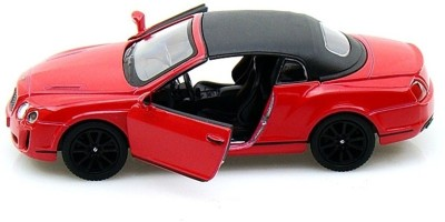 Kinsmart 2010 Bentley Continental Sports(Red)  available at flipkart for Rs.349