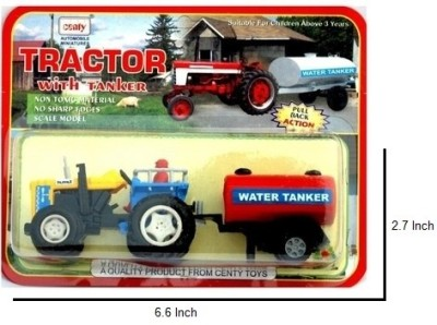 CENTY tractor with tanker(yellow , red)(Red)  available at flipkart for Rs.190