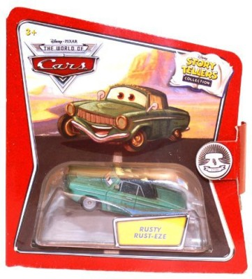 Disney Pixar Cars Movie 1:55 Die Cast Story Tellers Collection Rusty Rust-Eze(Multicolor)  available at flipkart for Rs.3349