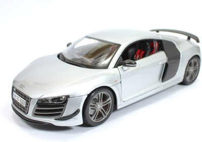MAISTO Audi R8 GT Silver 1:18 by Maisto Diecast Scale Model Car(Silver)  available at flipkart for Rs.2750