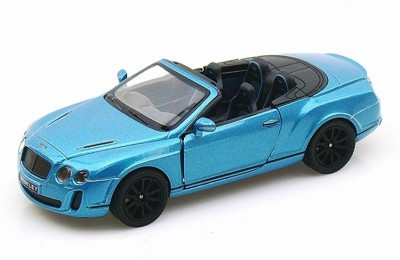 Kinsmart 2010 Bentley Continental Sports(Blue)  available at flipkart for Rs.399
