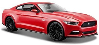 Maisto 2015 Ford Mustang Pull Back Action Car(Red)