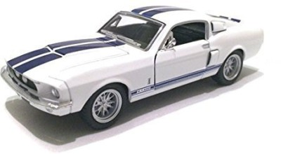 Kinsmart Scale 1/38 1967 Ford Shelby Mustang Gt-500 Diecast Car(White)  available at flipkart for Rs.2547