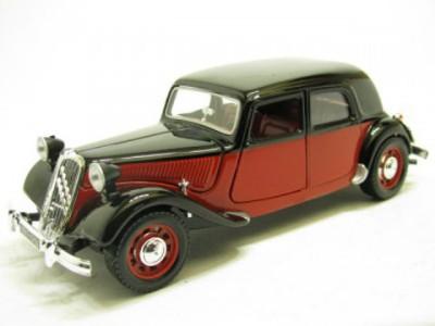 Bburago 1:24 Citroen TA 15CV Diecast Model Car(Green, Maroon)  available at flipkart for Rs.1050