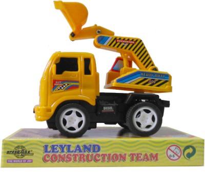 Speedage Leyland Excavator(Multicolor)