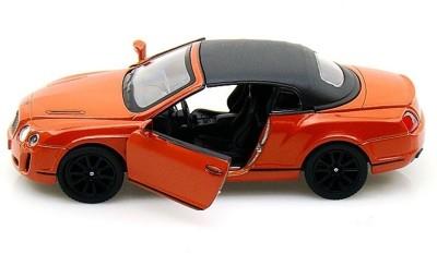 Kinsmart 2010 Bentley Continental Sports(Orange)  available at flipkart for Rs.399
