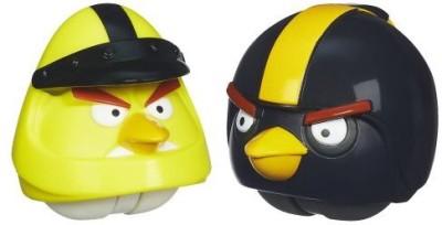 Angry Birds Playskool Heroes Angry Birds Go! Yellow Bird and Black Bird(Multicolor)