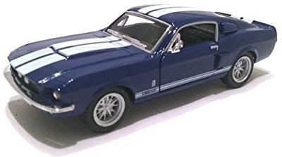 Kinsmart Scale 1/38 1967 Ford Shelby Mustang Gt-500 Diecast Car(Blue)  available at flipkart for Rs.2422