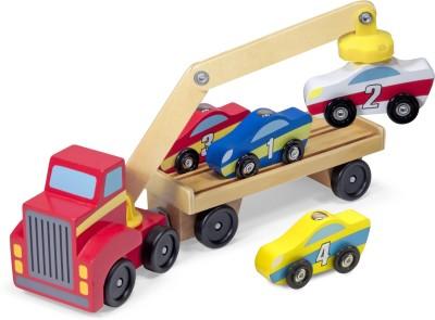 MELISSA   DOUG Magnetic Car Loader Multicolor, Pack of: 5 MELISSA   DOUG Push   Pull Along