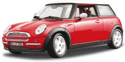 Bburago 1:24 Mini Cooper Diecast Model Car(Red)