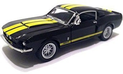 Kinsmart Scale 1/38 1967 Ford Shelby Mustang Gt-500 Diecast Car(Black)  available at flipkart for Rs.1835