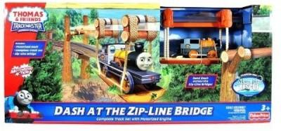 Thomas & Friends Dash at the Zip - Line Bridge DGC12(Multicolor) at flipkart