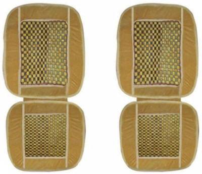 Speedwav Wooden Bead Seating Pad For Maruti Suzuki Zen(Front Seats Beige)