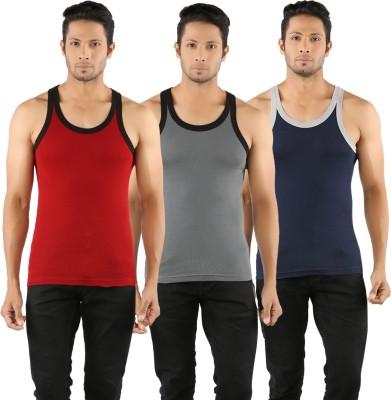 5d9651af8c6 11% OFF on Solo Men Vest(Pack of 3) on Flipkart