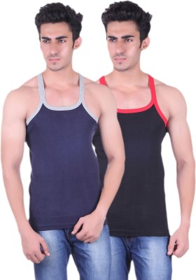 Unix Men Vest(Pack of 2) at flipkart
