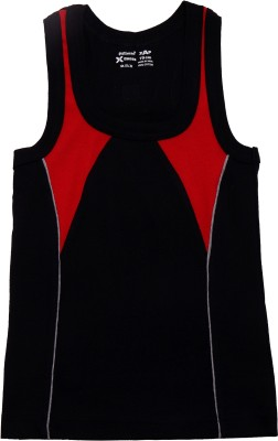 Hillman Vest For Boys Cotton(Black)