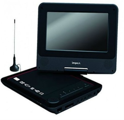 Shrih Video Player 7 inch DVD Player(Black)
