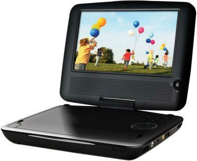 Shrih Portable SH-0225 7 inch DVD Player(Black)