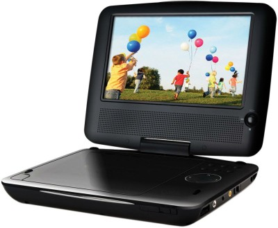 Shrih Portable Black 7 inch DVD Player(Black)