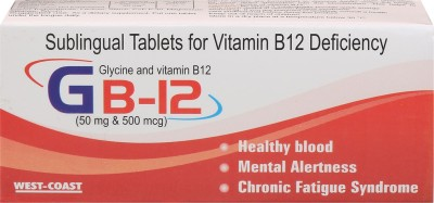 WestCoast GB 12 Tablets (100 Tablets)