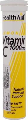 Health Aid Lemon Vitamin C 1000mg Supplements (20 Capsules)
