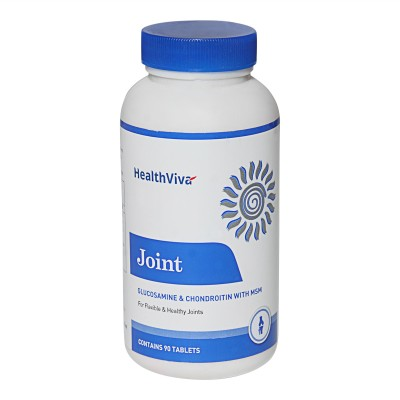 HealthViva Joint (Glucosamine & Chondroitin with MSM)(90 No)