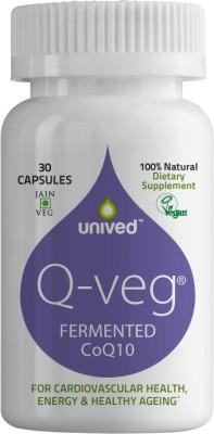 Unived Q-Veg Natural CoQ10 216 mg (30 Capsules)