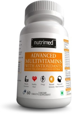 Nutrimed Advanced Mutivitamins With Antioxidants Supplement (60 Tablets)