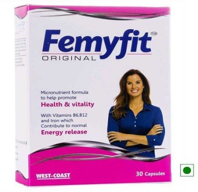 West Coast Femyfit Original Women multivitamin 30 Capsules.(30 No)  available at flipkart for Rs.160
