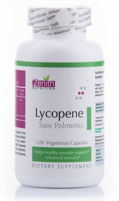 Zenith Nutrition Lycopene With Saw Palmetto Supplements (120 Capsules)