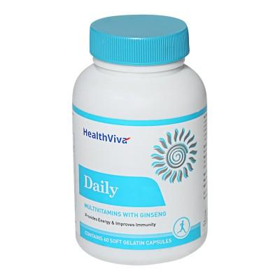 HealthViva Daily Multi Vitamin (60 Capsules)