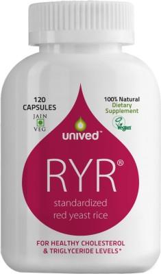 Unived RYR Cholesterol Care (120 Veg Capsules)
