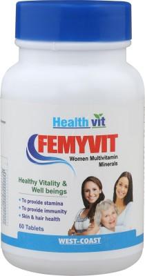 Healthvit Femyvit A To Z Women Multivitamin Minerals (60 Capsules)