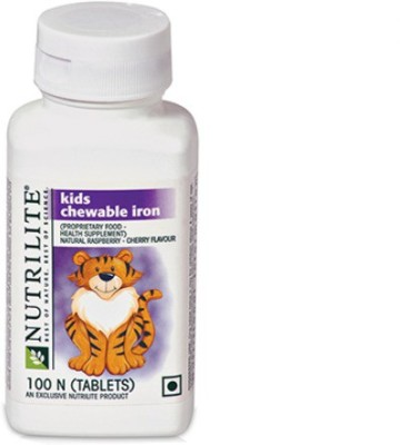 Amway Nutrilite Kids Chewable Iron, 100 tablets