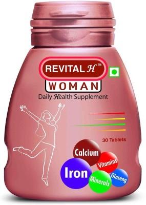 Revital Daily Health Supplement Woman 30 No Revital Vitamin Supplement