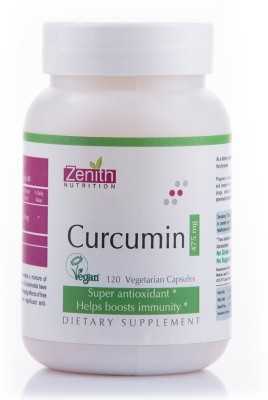 Zenith Nutrition Curcumin 475 mg Supplements (240 Capsules)