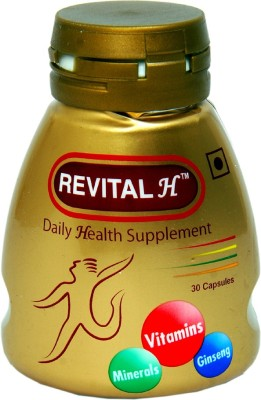 Revital Daily Health Supplement Man 30 No Revital Vitamin Supplement