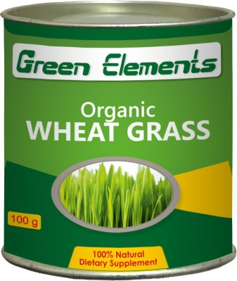 Green Elements Organic Wheat Grass Powder(100 g)  available at flipkart for Rs.349