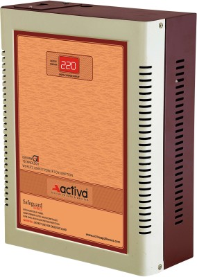 ACTIVA 4 KVA /165-290V DIGITAL AC VOLTAGE STABILIZER(IVORY-BROWN)