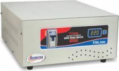 Microtek EML 3090 Voltage Stabilizer Grey Microtek Voltage Stabilizers