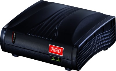 Premier 1 Kva Multikonect Voltage Stabilizer(Black)