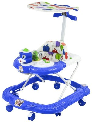 Panda Creation Activity Walker With Parent Rod(Green, Blue) at flipkart